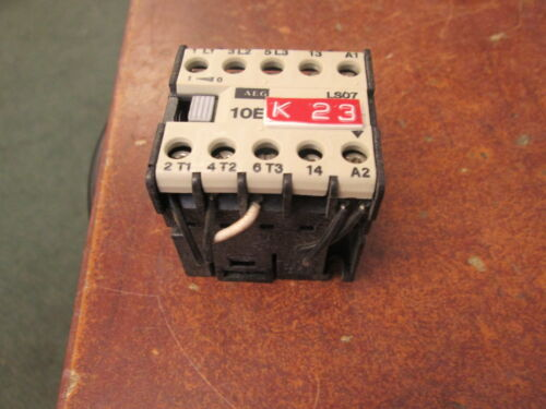 AEG Contactor LS 07 16A 600V Used