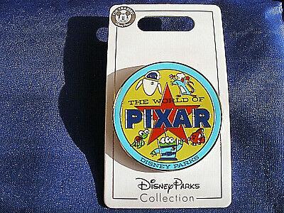 Disney * WORLD OF PIXAR * New on Card Trading Pin