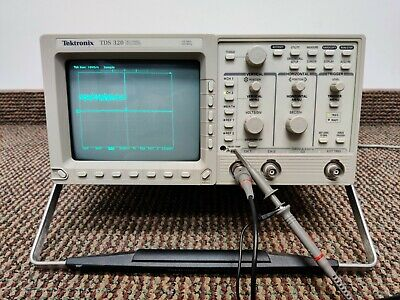 Tektronix Tds320 2 Channel Digital Oscilloscope 100 Mhz 500 Mss