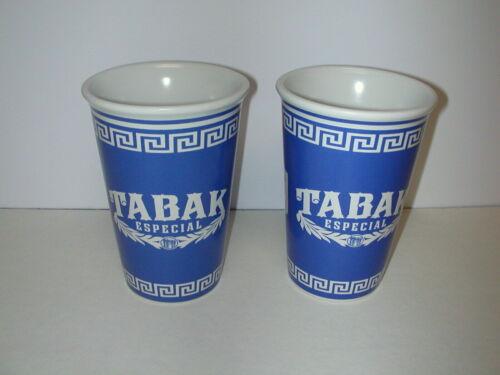 Set of 2 Tabak Especial Ceramic Coffee Cups by Drew Estate