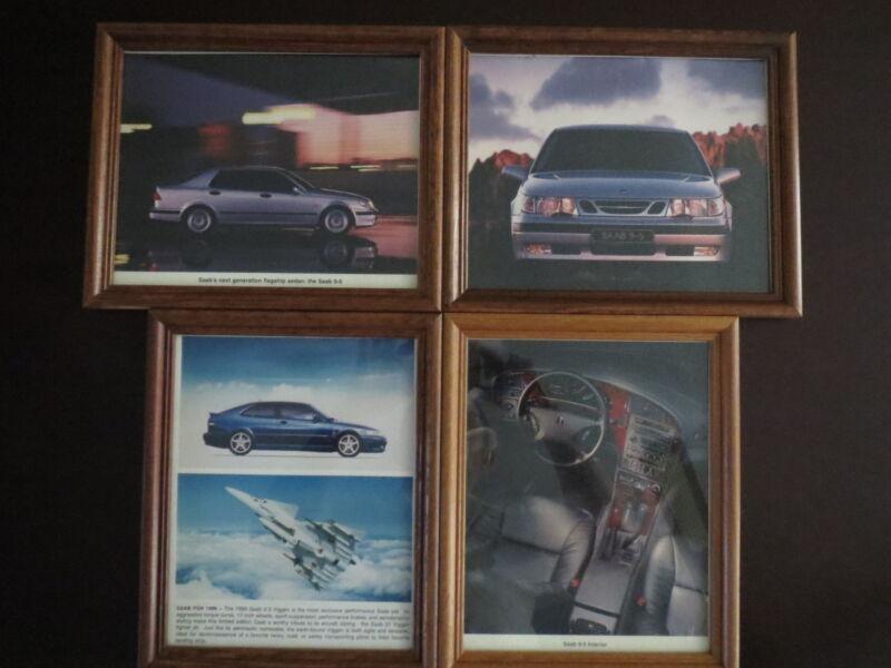 SAAB Dealer Framed Showroom Prints