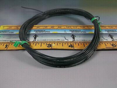 26 Gauge Black Hookup Wire Silver Plated Copper Teflon Sheath Qty25 Feet
