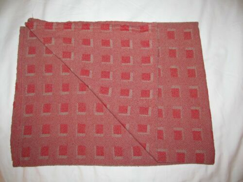 ROYAL JORDANIAN airline blanket JORDAN travel throw geometric design