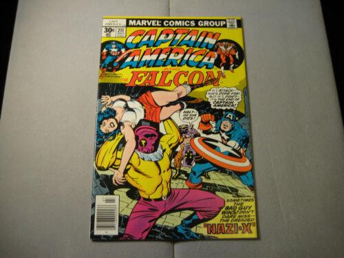 Captain America #211 (1977, Marvel)