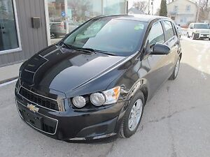 2013 Chevrolet Sonic LT heated seats 5 speed manual NOW $7495