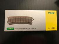 Trix 62206 Gleis gebogen R2 437,5 mm 5,7 Grad