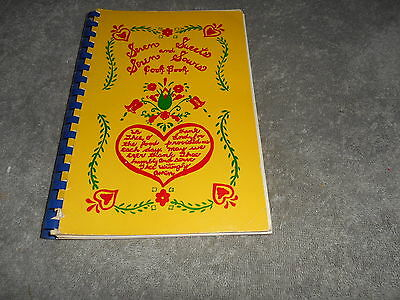 *ROWSBURG OH 1980  *LUTHERAN CHURCH COOK BOOK *SEVEN SWEETS & SEVEN SOURS