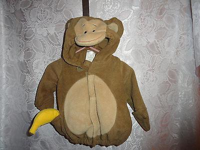 Toddler Banana Costume (TODDLER MONKEY W/BANANA HALLOWEEN COSTUME-SIZE 0-6)
