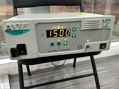 Mid Labs Ave 1500e Vitrectomy Enhancer Pulled Working Midlabs