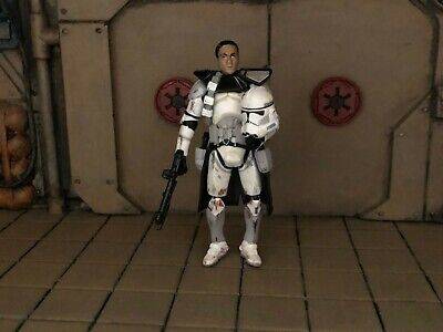"""LOOSE STAR WARS TAC """"The Fall Of The Republic"""" CLONE TROOPER COMMANDER"""