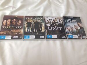 DVDs- The Unit Seasons 1-4 Box Hill North Whitehorse Area Preview