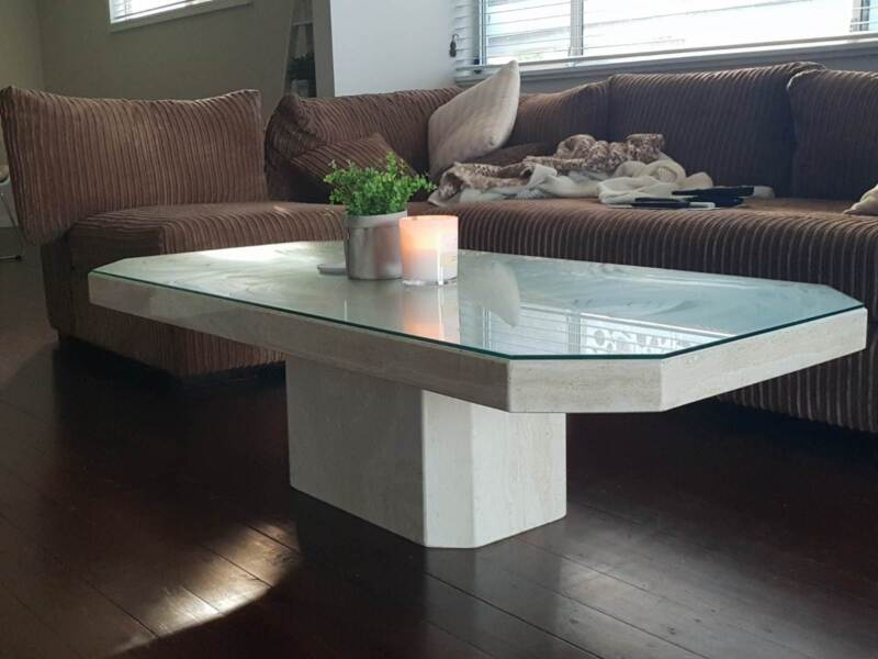 White Marble Coffee Table Coffee Tables Gumtree Australia Manly - Manly coffee table