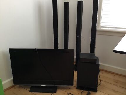 Surround sound system and  LCD TV