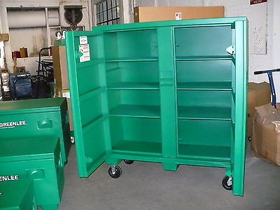 Greenlee 5660l 2-door Utility Cabinet W Casters