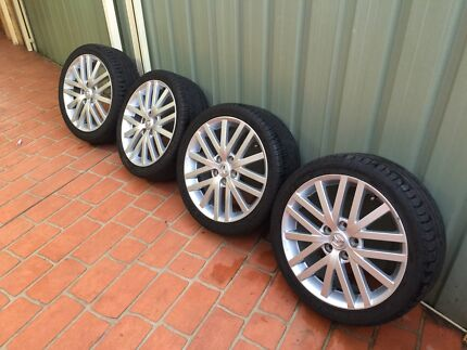 Mazda 6 MPS 18 Inch Wheels / Rims and Tyres  Greystanes Parramatta Area Preview
