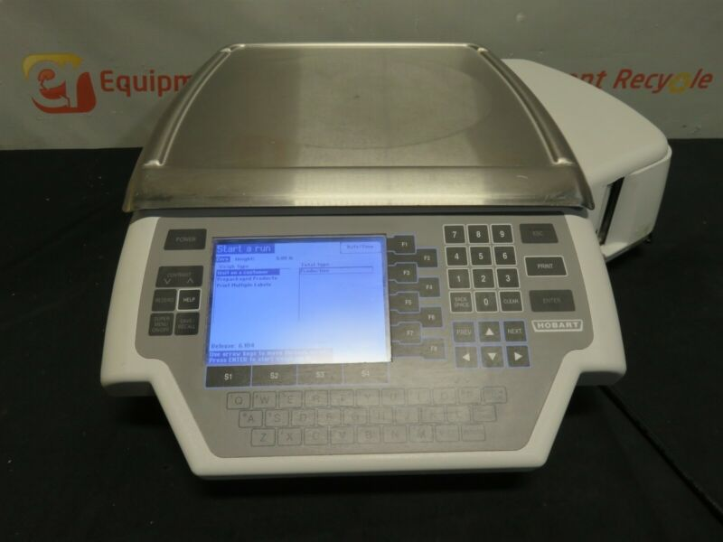 Hobart Commercial Quantum Digital Deli Weight Scale Label Printer