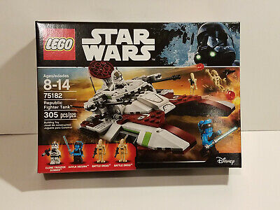 LEGO 75182 Republic Fighter Tank NEW SEALED FAST FREE SHIPPING !