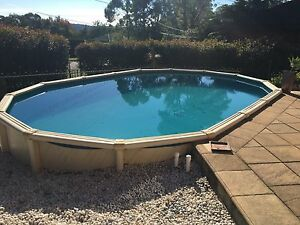 Above ground swimming pool Berowra Hornsby Area Preview