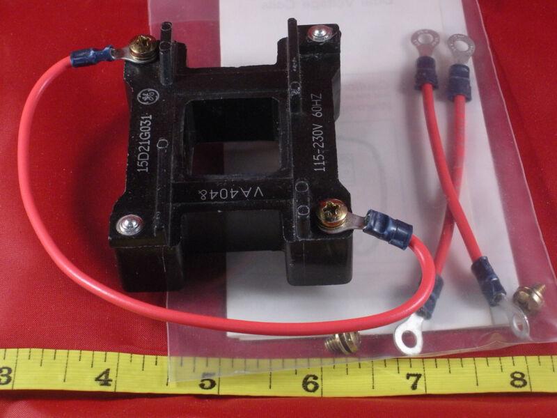 GE 15D21G031 Magnetic Coil 115-230V 60Hz VA4048 for 200 300 Starter & Contactor