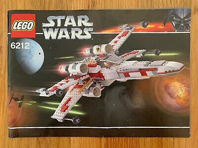 LEGO Star Wars 6212 X-Wing Fighter - No Minifigs/Box