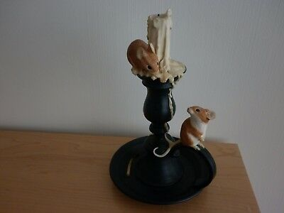 Sherratt and Simpson Mice pair on Candlestick 55197