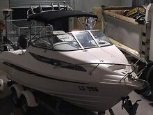 Whitley Clearwater 1900 half cabin 140hp four stroke Suzuki engine Campbellfield Hume Area Preview