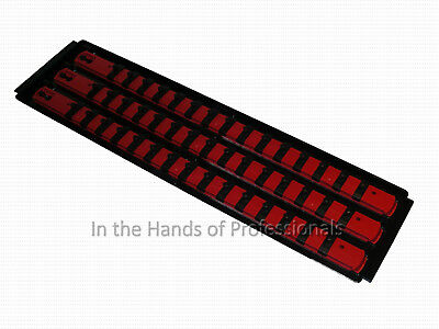 Apt Ernst 3Pc Set 8460   8461   8462   Socket Boss High Density Rail System Red