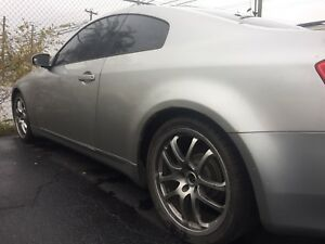 "19"" OEM Infiniti G35 Forged Rays Wheels"