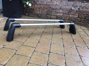 Mercedes roof rack cross bars