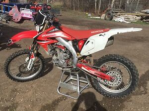 Trade 07 Honda CRF450x for CRF250L or KLX250