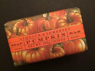 Asquith & Somerset Pumpkin pie shea butter fall soap 10.5 oz