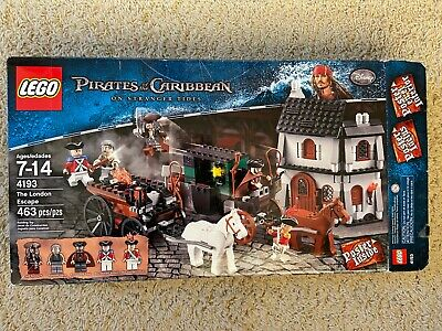 LEGO Pirates of the Caribbean set #4193 The London Escape with box & instruction