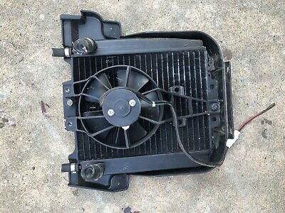 2009 PIAGGIO MP3 500 RADIATOR ASSEMBLY With Fan And Cover