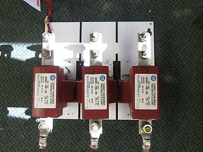 Allen-bradley Current Transformer Plate 80025-158-08 Ratio 75-5 60kv Bil 60hz