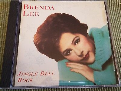 BRENDA LEE JINGLE BELL ROCK 10 TRACK HOLIDAY CD FREE SHIPPING