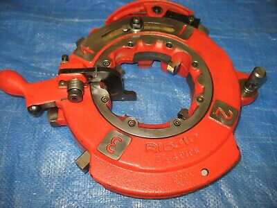 Ridgid 26152 Model 714 Self-opening Rh Die Head 2-12-4 Stainless Npt 1224