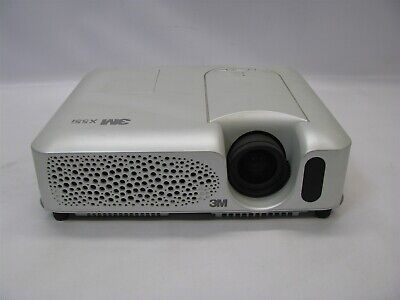 3M X55I 400:1 2000 Lumens LCD Video Projector w/Lamp *No - 3m Lcd Projector Lamp