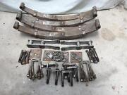 Four heavy duty trailer springs and rocker assembly parts Croydon Maroondah Area Preview