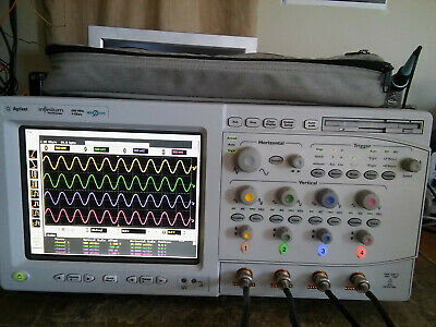 Agilent 54832b 4 Channel 1ghz Dso Oscilloscope Option 080 Ssd Very Low Hours