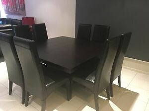 Adriatic 8 seater dining table and chairs - $1300 ONO Craigieburn Hume Area Preview