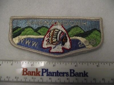 BOY SCOUT OA LODGE 258 SHENANDOAH FLAP