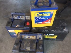 WE BUY ANY UNWANTED BATTERY $5each