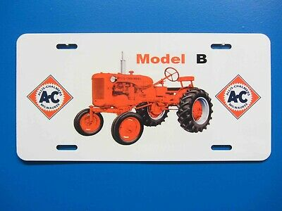 Allis Chalmers B License Plate