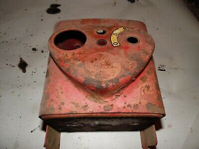 1951 Farmall C Farm Tractor Dash Box