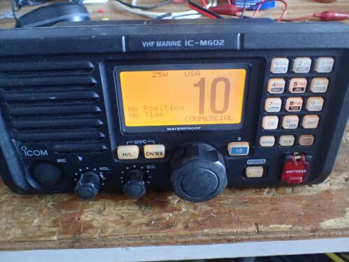ICOM IC-M602 Marine VHF Radio w/ HM-126RB Mic