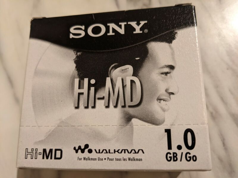 ** Sony Hi-MD Walkman1GB MiniDisc x5!!! HMD1GL