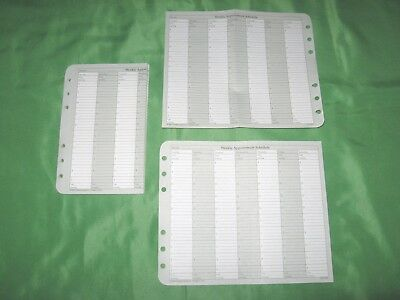 Compact 22 Sheets Weekly Appointment Schedule Franklin Covey Planner Refill