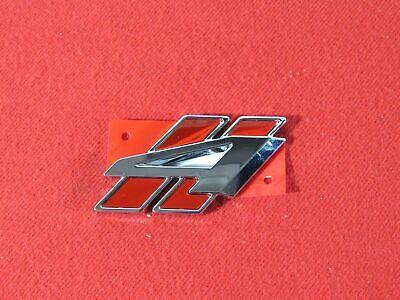 DODGE DURANGO Red & Chrome All Wheel Drive Liftgate Badge NEW OEM MOPAR Dodge All Wheel Drive