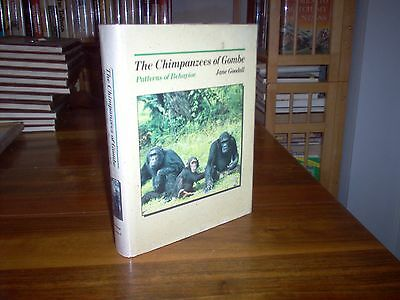 The Chimpanzees Of Gombe By Jane Goodall  Sgned