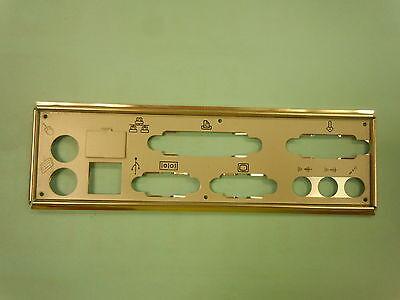 ATX Motherboard Backplate I/O Shield - Labelled, Heavy Duty